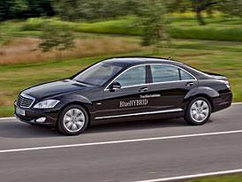 Mercedes-Benz S 400 BlueHybrid: Největší Mercedes už příští rok se spotřebou 7,9 l/100 km