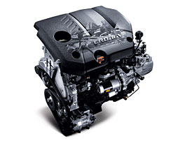 Hyundai má nový motor U2: 1.6 CRDi (92 kW, 260 Nm)
