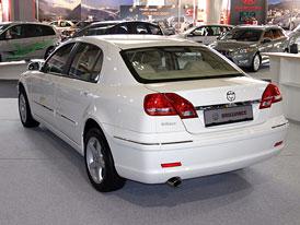 Čínský Brilliance v Paříži: Cena sedanu BS4 začíná na 15.990 Euro