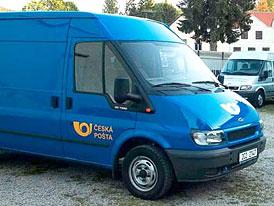 Česká pošta nakoupí dodávky za půl miliardy korun