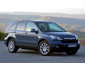 Český trh v srpnu 2008: Honda CR-V na špičce srpnového žěbříčku v kategorii terénních vozů a SUV