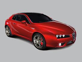 Alfa Romeo Brera TI: Nejluxusnější kupé Alfy bude mít premiéru v Paříži