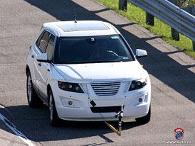 Spy Photos: Saab 9-4X v testovacím provozu