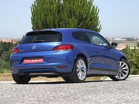 Volkswagen Scirocco na českém trhu: Základní 1,4 TSI (90 kW) stojí 549.900,- Kč