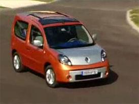 Video: Renault Kangoo Be Bop – stylová dodávka do města