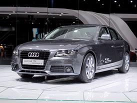 Paříž živě: Audi A4 TDI concept e - 2,0 TDI (88 kW) s kombinovanou spotřebou 3,99 l/100 km