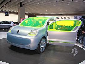 Paříž živě: Renault Z.E. - Blízká budoucnost bez emisí