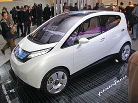Paříž živě: Pininfarina B0 - Studie elektromobilu s dojezdem 250 km