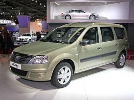 Paříž živě: Dacia Logan MCV – nová tvář pro kombi