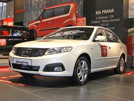 Autoshow Praha: Kia Magentis 2009 - První snímky inovovaného sedanu