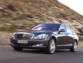 Český trh v září 2008: Mercedes-Benz S čeká ve třídě luxusních vozů na konkurenty