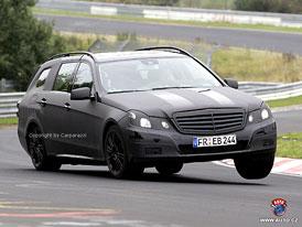 Spy Photos: Mercedes-Benz E - velká kombi mají pokračovatele