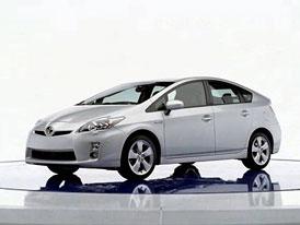 Toyota odmítla ocenění pro vůz Prius, který má potíže s brzdami