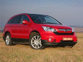 Český trh v září 2008: Honda CR-V zopakovala srpnový triumf, vede i celkově