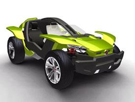Fiat Bugster: Koncept pro radost z jízdy