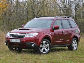 Naftové Subaru Forester 2.0D na českém trhu, cena od 793.800,-Kč