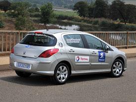 Peugeot 308 1,6 HDi: Rekordní jízda v JAR - 1689,7 km na jedno tankování