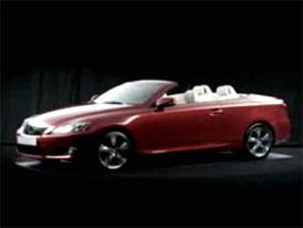 Video: Lexus IS 250C – detailní pohled na střechu i do interiéru