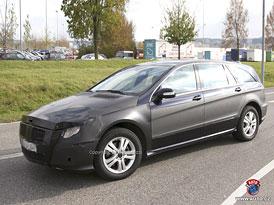 Spy Photos: Mercedes-Benz R - čekání na hrany? (nové fotografie)