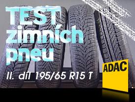 ADAC Testy zimních pneumatik 2008 (2. díl): Rozměr 195/65 R15 T