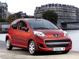 Peugeot 107: Nejen nová tvář (fotogalerie a technická data)