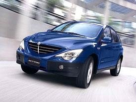 SsangYong snížil ceny všech modelů, Actyon již za 499.980,- Kč s DPH