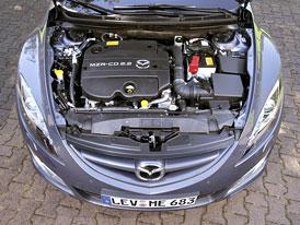 Mazda6 dostane nové motory 2,2 MZR-CD s 92, 120 a 136 kW