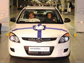 Hyundai: první vůz z továrny v Nošovicích předán zákazníkovi