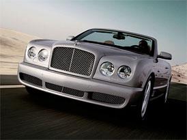Bentley Azure T: Nejvýkonnější kabriolet z Crewe (373 kW a 1000 Nm)