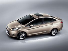 Ford Fiesta Sedan: Světová premiéra na autosalonu v Guangzhou