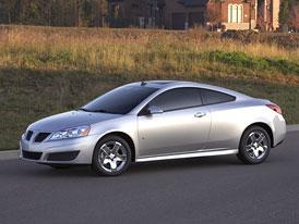 Pontiac G6: Modernizace všech verzí pro rok 2009