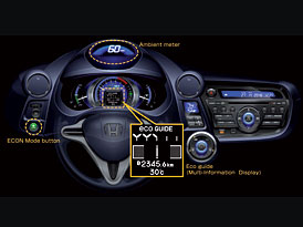 Honda Insight: Technika nestačí, řidiče je třeba instruovat