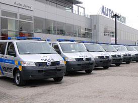 Transportery v nových barvách pro Policii ČR