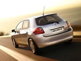 Toyota Auris dostane p��t� rok nov� motor 1,33 Dual VVT-i (74 kW)