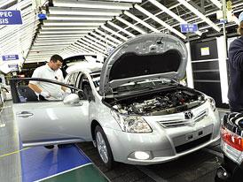 Toyota Avensis: V�roba nov� generace se rozj�d� v Brit�nii