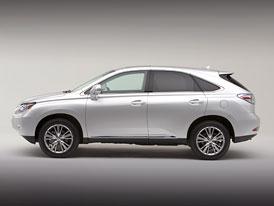 Lexus RX 350 a RX 450h: Růst v trvale udržitelných mezích