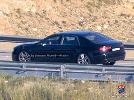 Spy Photos: Nov� Audi A8 - Druh� pohled z d�lky