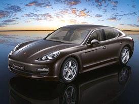 Porsche Panamera: Velká fotogalerie, oficiální informace, plakáty