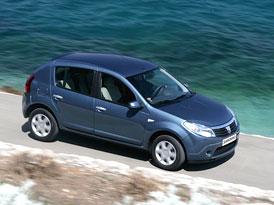 Dacia Sandero: Pětidveřový hatchback za 169.900,- Kč, 3 roky záruka