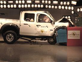 Euro NCAP: Ford Ranger � velk� auto neznamen� bezpe�n�