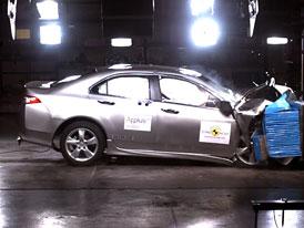Euro NCAP: Honda Accord – 5 hvězd a velmi dobrá ochrana chodců