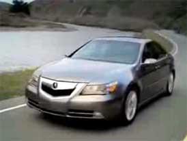 Video: Acura RL � Honda Legend v luxusn�j��m balen�