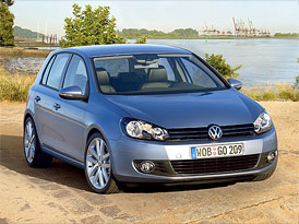Nový VW Golf od 359.900,- Kč, turbodiesel zatím od 461.700,-Kč