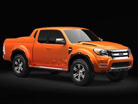 Ford Ranger Max: Koncept pick-upu z Thajska (Video)