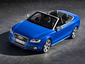 Audi A5 a S5 Cabriolet: První informace a fotografie, S5 má šestiválec 3.0 TFSI