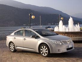 Toyota Avensis: Japonský sedan teď za 499.900,-Kč