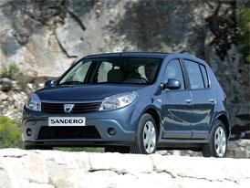 Český trh v listopadu 2008: Dacia Sandero v Top5, Fiesta mimo Top10 třídy malých vozů