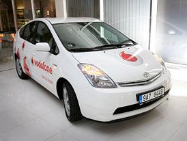 Vodafone ČR má ve vozovém parku 5 vozů Toyota Prius