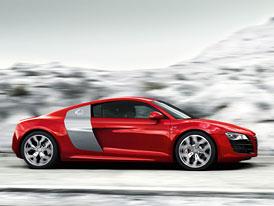 Audi R8 V10: Nejrychlejší R8 s motorem z Lamborghini (nové foto)