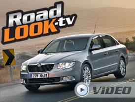 Škoda Superb 2,0 TDI: úhel pohledu (Roadlook TV)